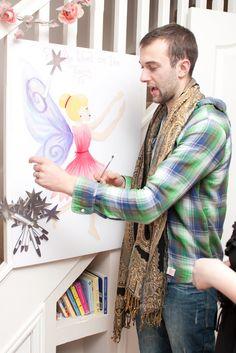 Pin the fairy wand on the fairy: Bethany Ann Smith: An Enchanted Fairy Wonderland  Love this party game idea