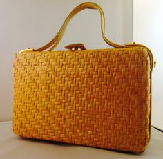 Vintage I. Magnin Handbag Made in Italy Woven by StunningVintage