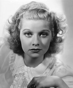 1930's Blond Lucille Ball | Flickr - Photo Sharing!