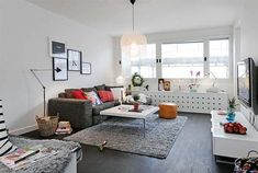 Small Fifth Floor Apartment with a Lovely Interior Design and Great Layout