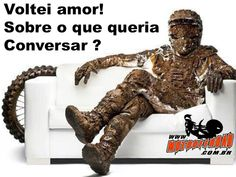 I'm back honey! Talk about what you wanted?  www.motooffroad.com.br #MotoOffRoad #mx #Motocross #mud #trilha