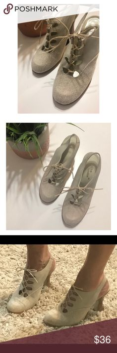 Sacha London vintage style heels These are so adorable.  Vintage style lace up heels.  GUC.  Bundle for best deals. Vintage Shoes Heels