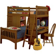 Bolton Furniture Mission Sleep/Study/Storage Loft Bed