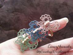 tatting指輪 の画像|honey*tomatoのブログ