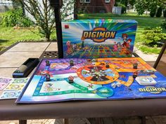 Digimon Ultimate Adventure Board Game by Mad Hatter Toy and Game Factory