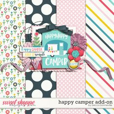 FREE Happy Camper Add-On by Becca Bonneville