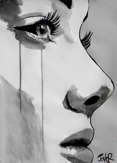 "Saatchi Art Artist Loui Jover; Drawing, ""awakening"" #art"