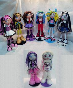 Fofuchas Monster High - kit 8 fofuchas