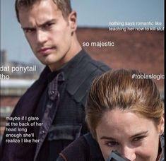 Divergent Fan Art, Divergent Memes, Divergent Hunger Games, Divergent Movie, Divergent Fandom, Divergent Insurgent Allegiant, Tris And Tobias, Tris And Four, Tris Et Quatre