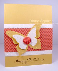 Love the butterfly!  I'll try to recreate with my SU embosslits when they get here.  Pretty!