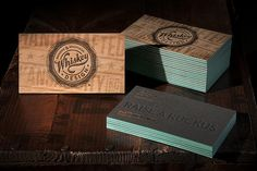 Whiskey Design Business Cards