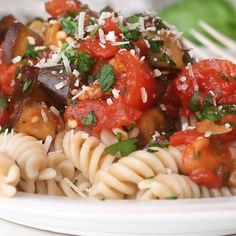 Vegetarian Eggplant and Tomato Sauce