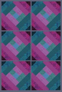 Quilt As You Go Pre-Printed Batting London Labyrinth