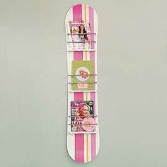 snowboard decoration use - not sure if I should pin this into my home stuff or my snowboard stuff!!!  <3
