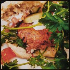Mine matskriblerier: Søstera sine kyllingburgere