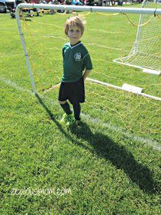 Wordless Wednesday: Soccer @zealousmom.com