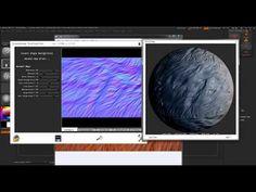 Creating Alpha Maps for Zbrush using Crazybump - YouTube