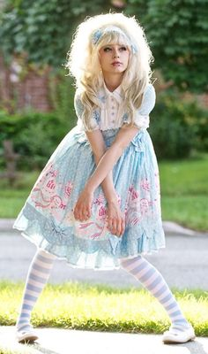 Sweet Lolita SunShine ♥ ロリータ, sweet lolita, fairy kei, decora, lolita, loli, gothic lolita, pastel goth, victorian, rococo ♥