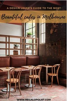 Melbourne's coffee culture is extraordinary and so are its cafes. So, if you're a design lover like us, check out our guide to some of the most beautifully designed cafes in Melbourne. Design Exterior, Interior Design, Cafe Design, Design Design, Cat Ideas, Melbourne Coffee, Melbourne Architecture, Blue Armchair, Monochromatic Color Scheme