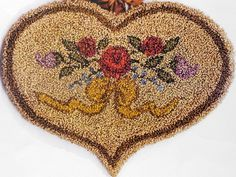 Punchneedle Embroidery Pattern.