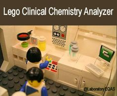 Lego Clinical Chemistry Analyzer...Everything is AWESOME...When the analyzer is working