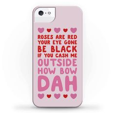 Cash Me Outside How Bout Day Valentine - Let your valentine know that if they don't get you flowers or cards or candy, to cash you outside. How bow dah? Show your valentine your love for them with this hilarious, meme phone case!