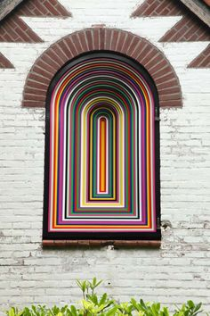 Jim Lambie - Tomorrow never knows courtesy of the artist and Sadie Coles HQ, London (photo: Dirk Pauwels) Jim Lambie, Research Images, London Photos, Abstract Styles, Lost & Found, Optical Illusions, Rock Art, Installation Art, Art Interiors