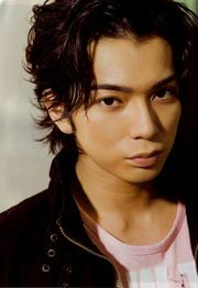 Matsumoto Jun - lead singer of the most famous j-idol band Arashi and actor in dramas such as Gokusen and Hana yori dango.