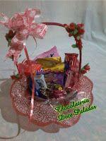 Chocolateria Doce Paladar: Cesta chocolate com carinho - R$ 105,00 - 18 itens...