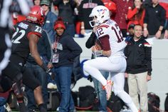Military Bowl - December 27, 2014 Michael Brewer is very tough!
