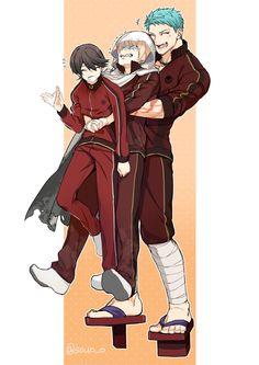 Mutsunokami Yoshiyuki, Short Comics, Touken Ranbu, Cute Boys, Anime Guys, Character Design, Fandoms, Kawaii, Fan Art