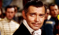 GONE WITH THE WIND ~ Clark Gable as Rhett Butler. [Video/GIF]