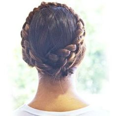 Milkmaid Braids - Click image to find more hair posts