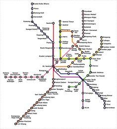 """Metro de Kuala Lumpur: Información General    Las líneas de metro de Kuala Lumpur se hayan clasificadas en distintas categorías: el ferrocarril ligero, los trenes de cercanías y el monorail. Aunque al metro lo llaman ferrocarril ligero,es una red de metro totalmente independiente. Así pues, hablaremos de las dos líneas de """"ferrocarril ligero-metro"""" y el monorail. Las tres líneas están operadas por dos compañías distintas."""