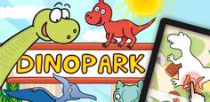Zábavné aplikace pro iPad, iPhone, Android a web - Můj DinoPark Red Riding Hood, Fun Games, Kids And Parenting, Ipad, Android, Animation, Graphics, Iphone, Comics