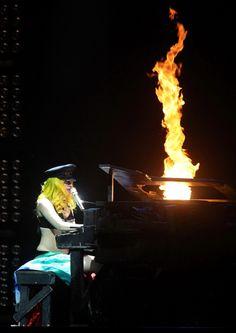 Lady Gaga takes Turin, Italy