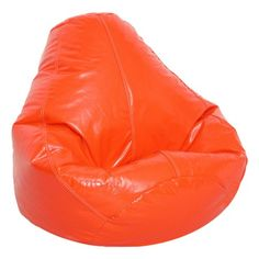 For my orange loving friends....kids playroom?  I pinned this Clara Bean Bag in Orange from the Bright Ideas event at Joss and Main!