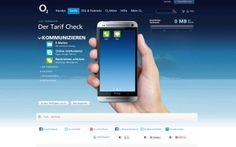 O2 Tarif Check on Behance