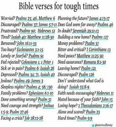Tough Times, look below for the only help you need: our FATHER GOD'S HOLY WORD!!! ~ Direct Prophecy News
