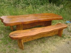 Wooden Outdoor Table, Wooden Tables, Outdoor Tables, Outdoor Decor, Wooden Furniture, Outdoor Furniture, Outdoor Table Settings, Weekend Crafts, Design Your Own