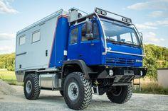 """Steyr 12M18 - FernReiseMobil Technik """"FRM Technik"""" von Individualisten für Individualisten"""