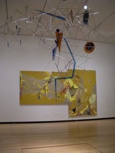 """""""Dannielle Tegeder: Painting in the Extended Field,"""" installation view at the Wellin Museum"""