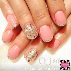かわいいネイルを見つけたよ♪ #nailbook #nails #naildesign #celebrity #tokyo #ojsalon #広尾 #恵比寿