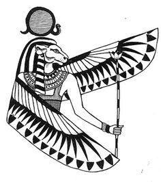 Sekhmet logo - old Mermade art by Katlyn