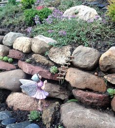 Image result for fairy garden natural