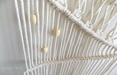 A Pair & A Spare   DIY Macrame Wall Hanging