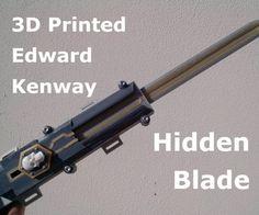 3D Printed Edward Inspired Hidden Blade