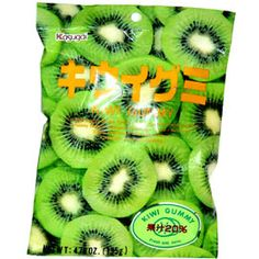 Kasugai gummy brings to you kiwi flavored gummy candy. This is one gummy you will not want to stop eating I Can Haz, Shirataki Noodles, Asian Snacks, Broken Wings, Different Feelings, Miso Soup, I Want To Eat, Stop Eating, Kiwi