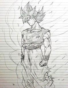 Goku Drawing, Ball Drawing, Dbz Drawings, Super Manga, Dragon Ball Gt, Anime Sketch, Character Art, Anime Art, Sketches