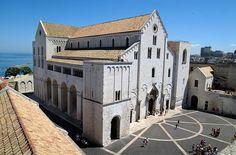 Basilica di San Nicola 1087-1103 Bari #art #arthistory #architecture #bari #stnicholas #romanesque